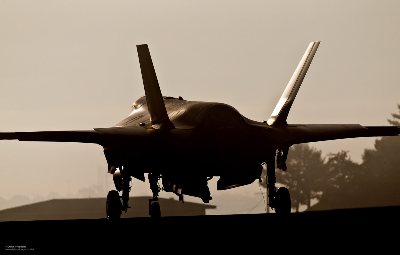 UK F-35B Lightning II at Eglin AFB, Florida
