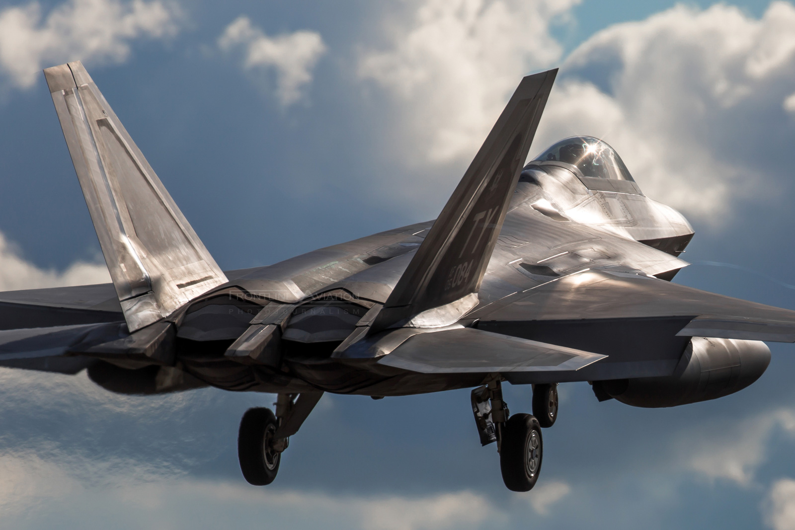 LM F-22A Raptor, 05-4084, 95th FS, Tyndall AFB
