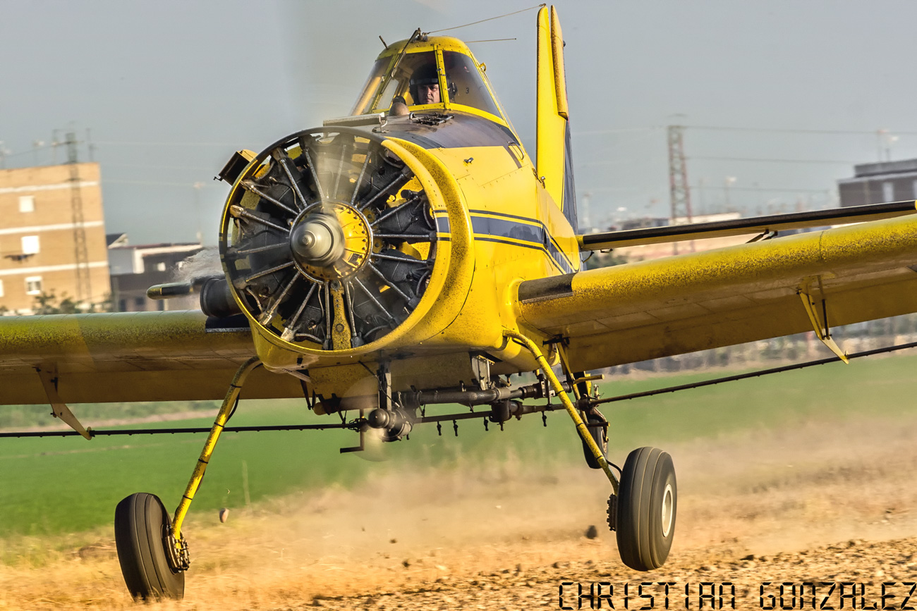 Chistian Gonzalez_Air Tractor AT-501
