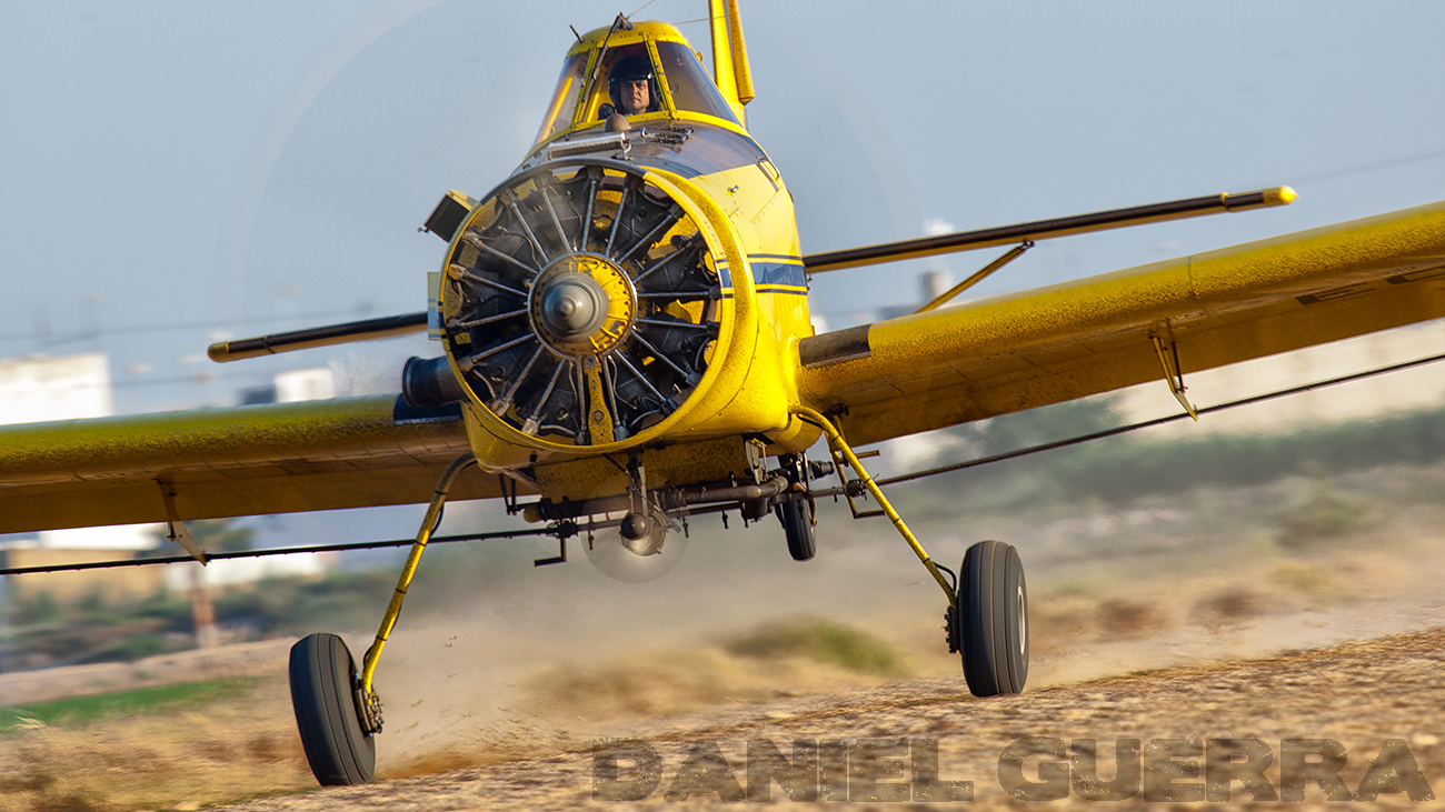 Daniel Guerra_Air Tractor AT-501 despegue