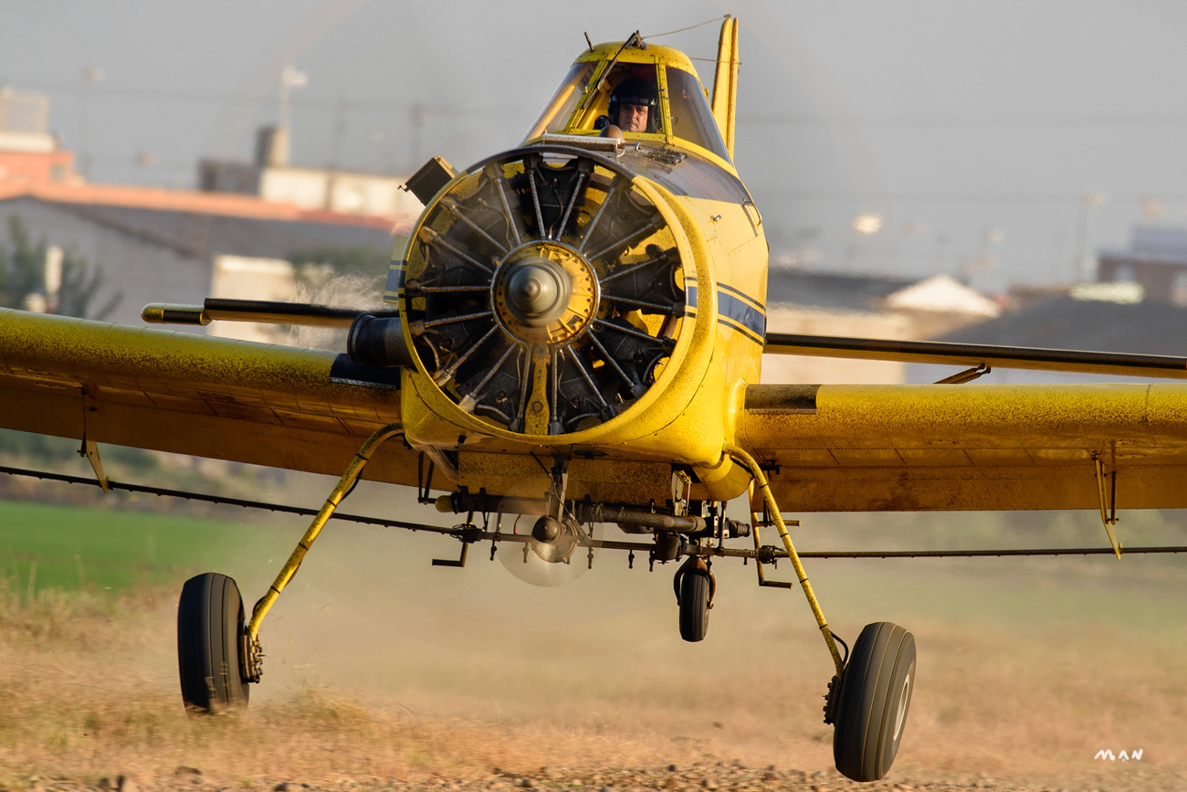Manuel Perez_Air Tractor AT-501
