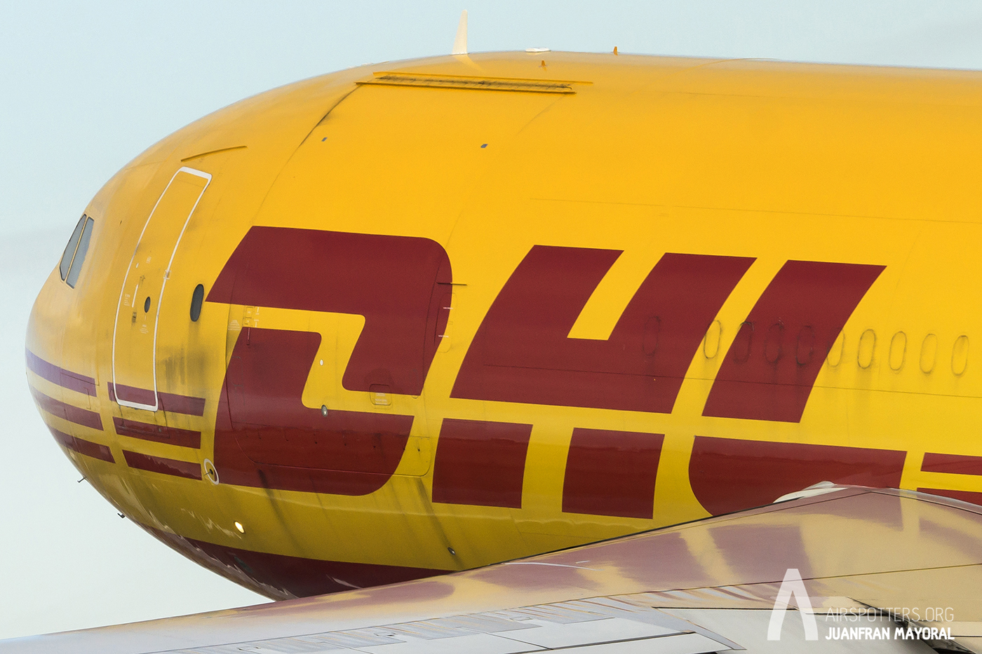 Spotting Day Sevilla. A330 DHL