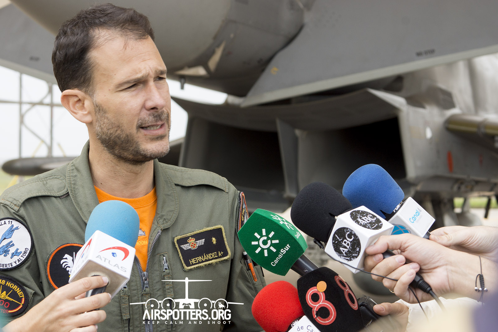 Comandante Ignacio Hernández Ala 11 Baltic Air Policing 2018